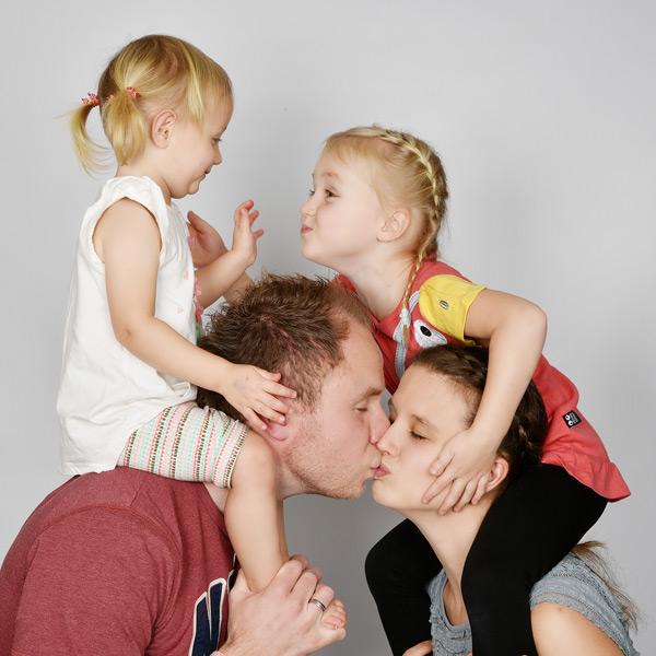 Familien-Fotoshooting | Foto-Partner Studio Hamburg